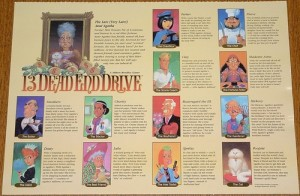 13 Dead End Drive Characters