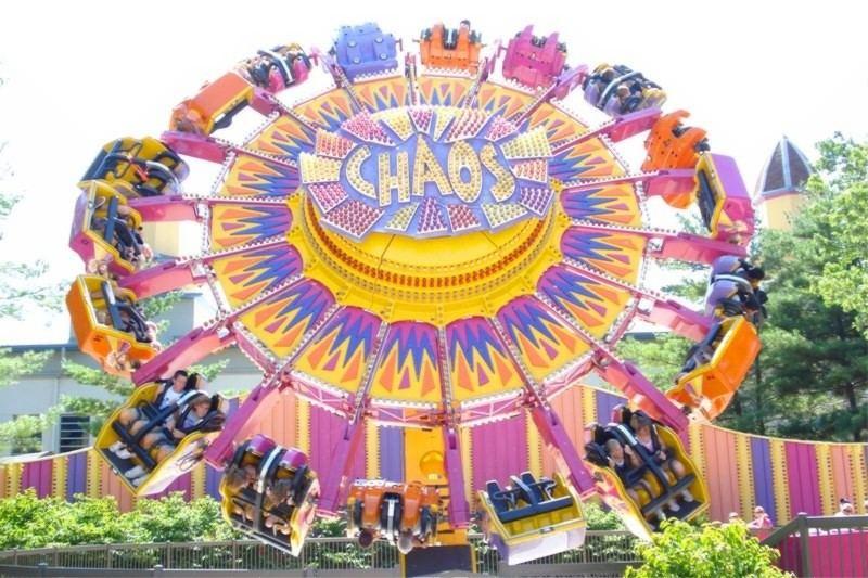 Cedar Point Rides - Chaos