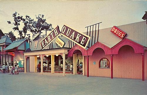 Cedar Point Rides - Earthquake