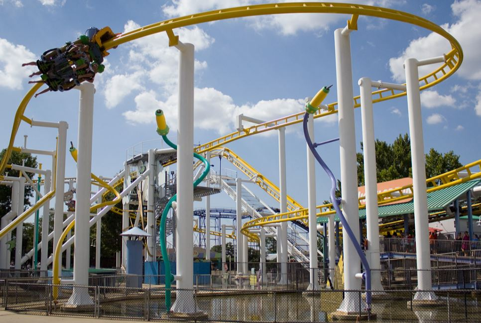 Carowinds Rides Of The 80\'s And 90\'s!