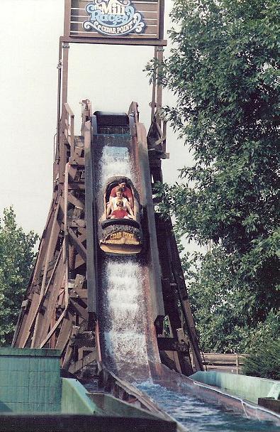 Cedar Point Rides - Mill Race