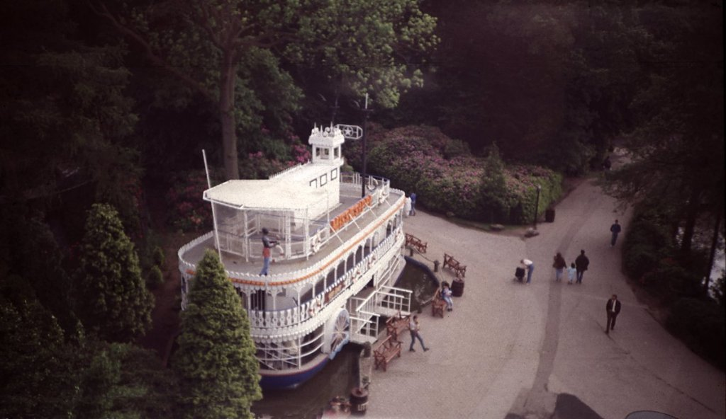 Alton Towers Rides - Mississippi Showboat