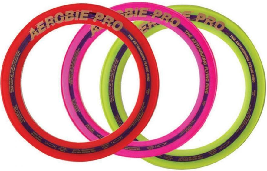 Colors May Vary Aerobie 13 Pro Ring Set Of 3