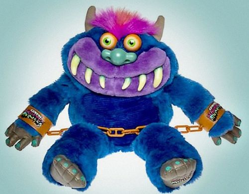 My Pet Monster Plush Toy From 1986