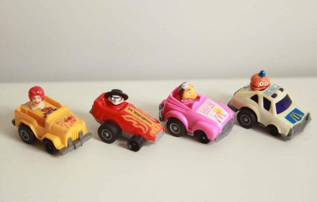 Pullback Race Cars (1985)