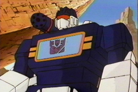 What Did Soundwave Turn Into When Not In Human-Like Form?