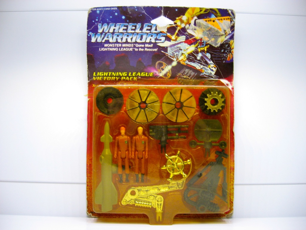 Jayce and the Wheeled Warriors Toys - 1985